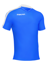 Macron-Earth-Shirt-Blauw-Wit